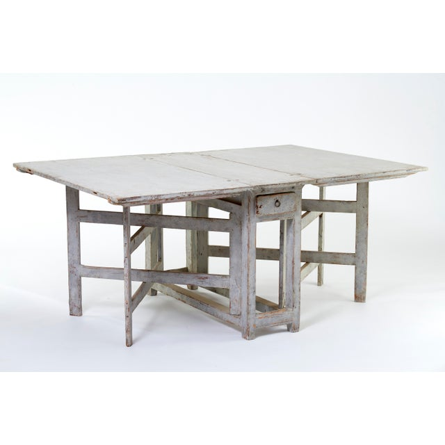 Early 19th Century Antique Swedish Dining Table For Sale In Dallas - Image 6 of 8
