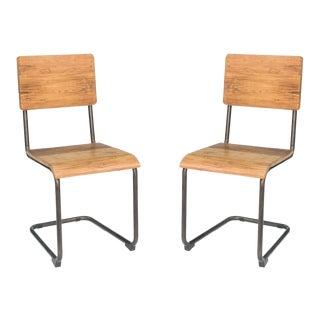 Boho Chic Sarreid Ltd. Bentwood Dining Chair - A Pair For Sale
