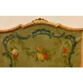 1950s Hand Painted French Gilt Framed Screen Preview