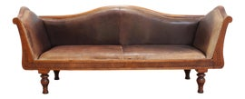 Image of Leather Benches