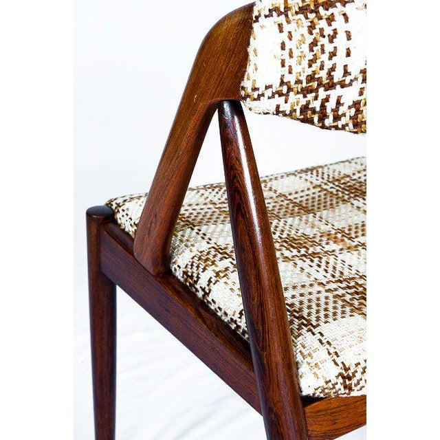 Set Of 6 Rosewood Kai Kristiansen Dining Chairs - Image 9 of 10