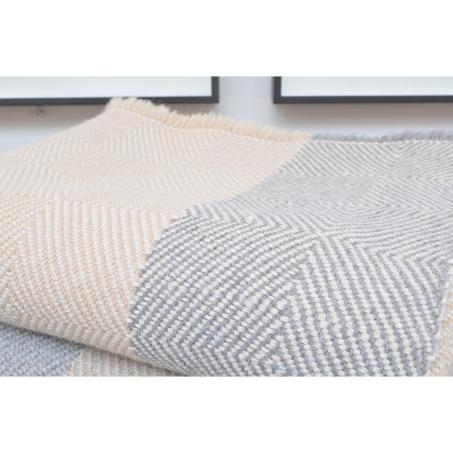 2010s Abbatte - Goose Eye Weave Blankets For Sale - Image 5 of 6