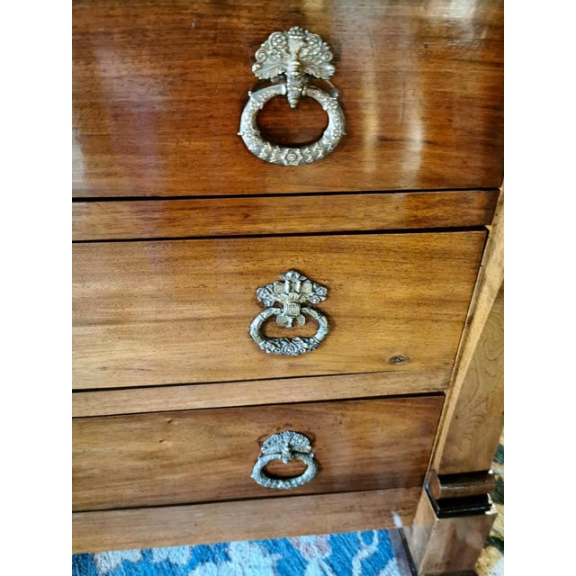 Early 19th Century French Walnut Chest of Drawers For Sale - Image 5 of 13