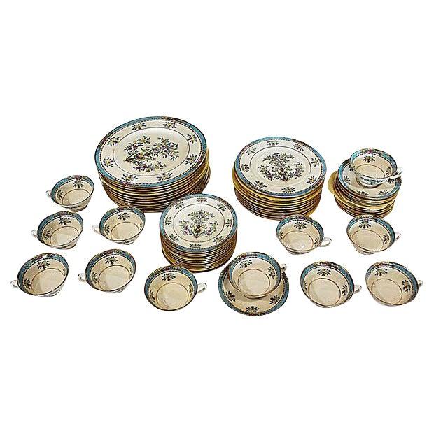 Lenox Blue Tree Dinnerware- 60 Pieces - Image 1 of 7
