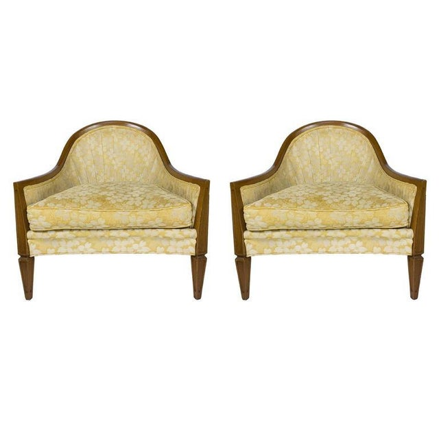 Pair of French, 1950s Rounded Armchairs - Image 11 of 11