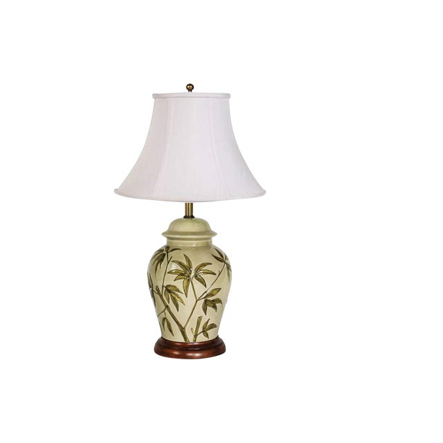 Frederick Cooper Table Lamp W/ Bamboo Motif For Sale
