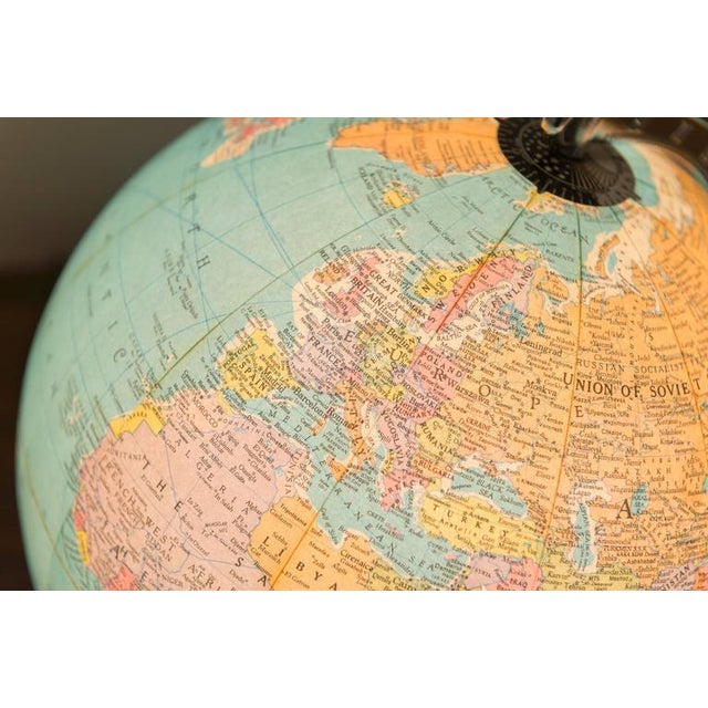 Illuminated Replogle Library Globe - Image 3 of 9
