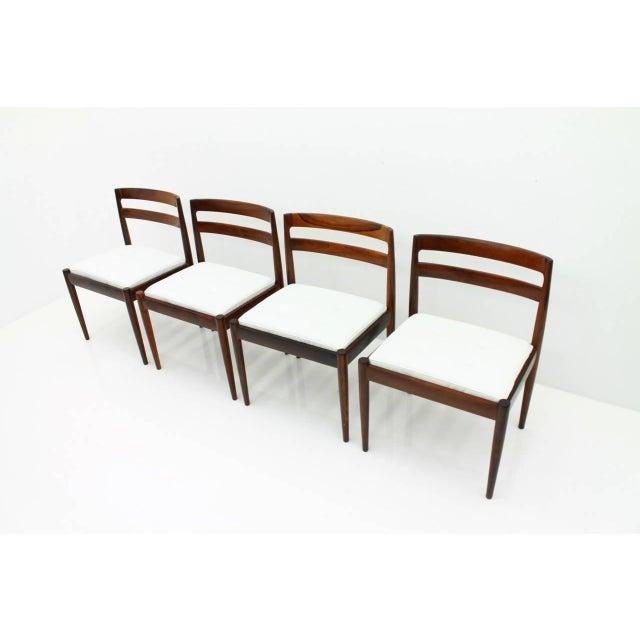"1960s Kai Kristiansen Dining Chairs ""Universe 301"" for Magnus Olesen Denmark 1960s For Sale - Image 5 of 13"