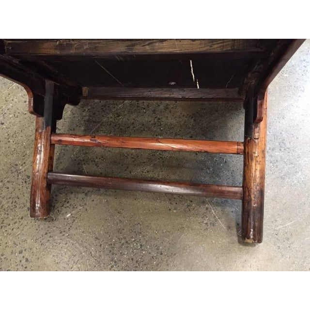 Antique Chinese Huanghuali Hardwood Table For Sale - Image 9 of 9