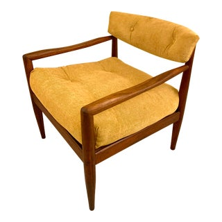 Adrian Pearsall Walnut Lounge Chair For Sale