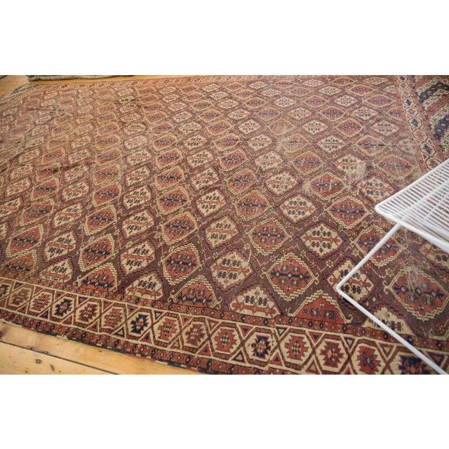 "Blue Antique Beshir Carpet - 8'9"" X 14' For Sale - Image 8 of 13"