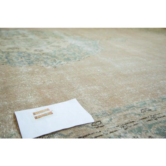 "Vintage Turkish Oushak Carpet - 9'6"" x 13' - Image 7 of 8"