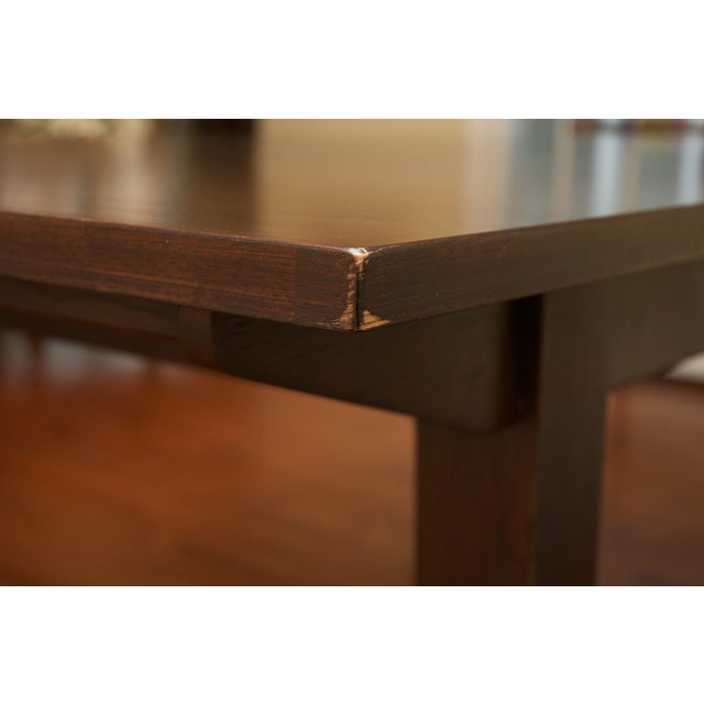 Ethan Allen Horizon Collection Dining Table - Image 5 of 8