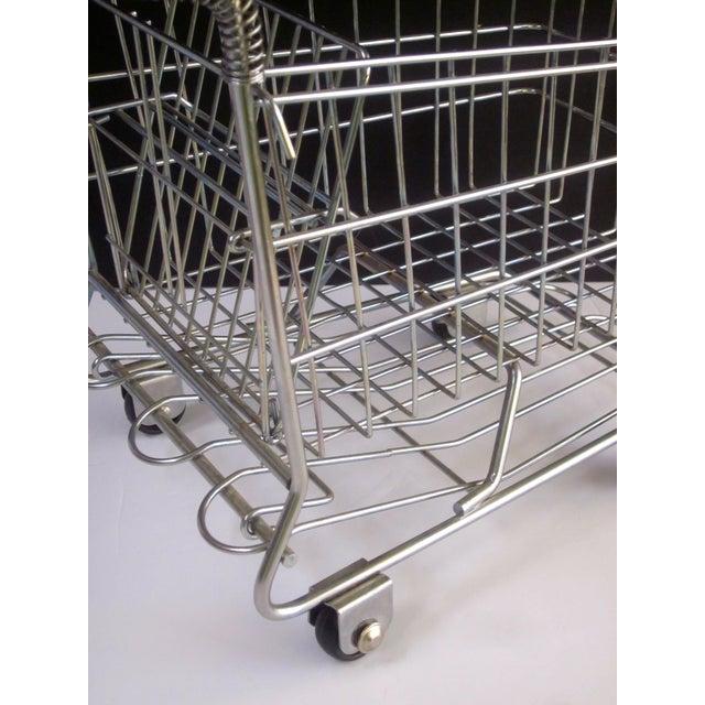 Vintage Pop Art Shopping Cart - Image 5 of 9