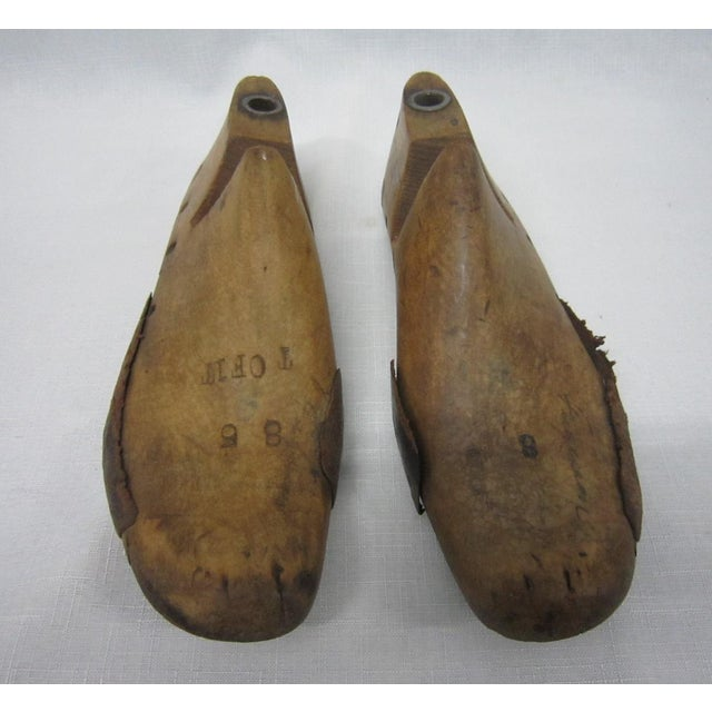 Wooden Shoe Forms- A Pair - Image 3 of 5