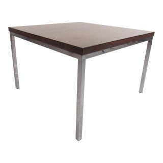 Milo Baughman Style Coffee Table For Sale