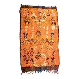 Vintage Talsint Moroccan Rug - 6′2″ × 9′ For Sale