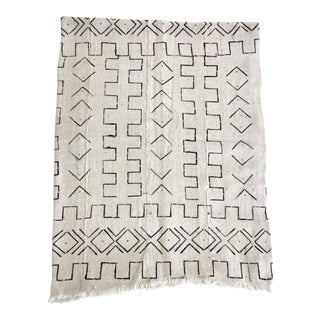 Mali Mudcloth Textile /Throw For Sale