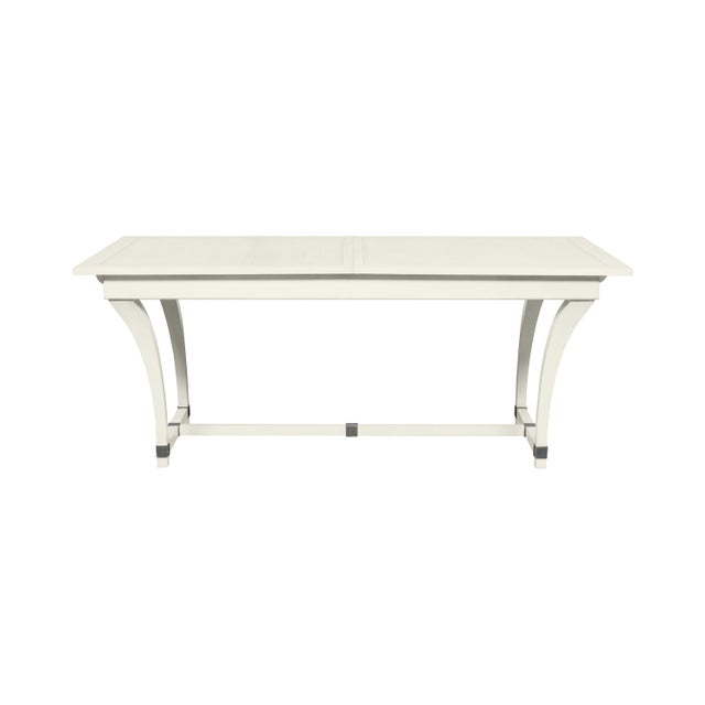 Traditional Casa Cosima Living Rhodes Dining Table - Cloud White For Sale - Image 3 of 3