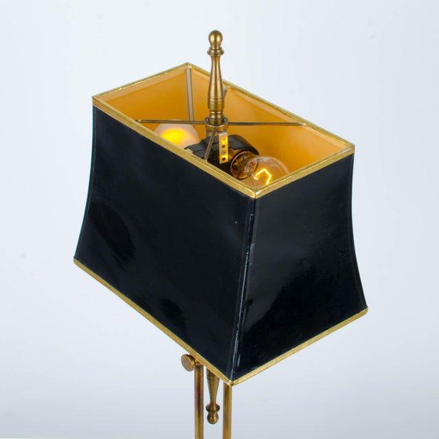 Ethan Allen Articulating Brass Lamp - Image 9 of 11