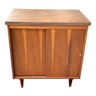 1960s Vintage Record/ Media Console Cabinet For Sale