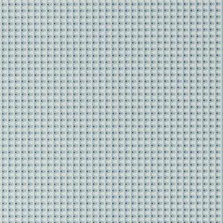 Schumacher X David Oliver Milo Wallpaper in Spruce Blue For Sale