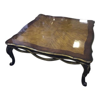 Vintage Mid-Century Theodore Alexander High Gloss Coffee Table For Sale