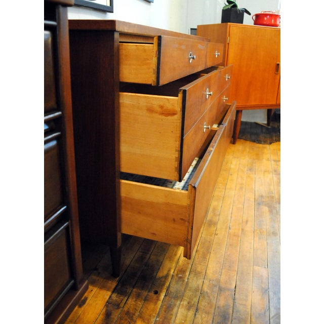 1960s Mid Century Walnut Low Dresser by Basset 1960's For Sale - Image 5 of 10