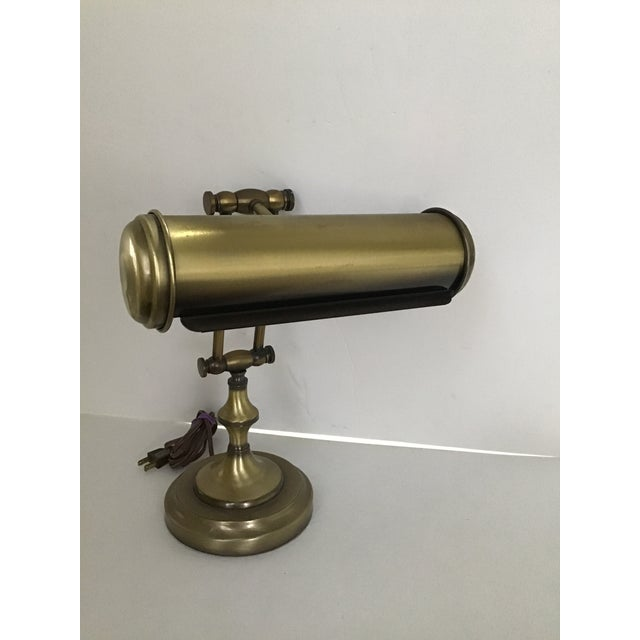 Mid 20th Century Vintage Piano Adjustable Desk Lamp For Sale - Image 5 of 5