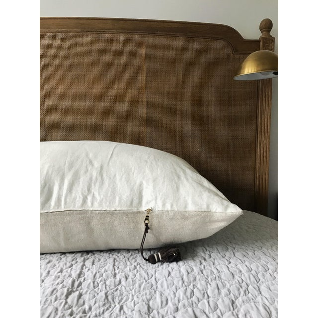French European King Sized Pillow For Sale - Image 3 of 8