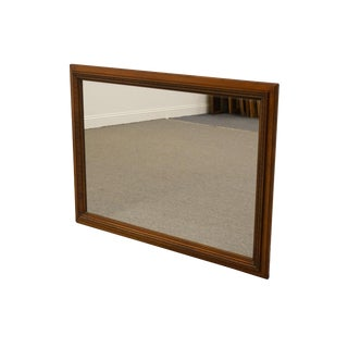 Willett Furniture Solid Cherry Wall Mirror For Sale