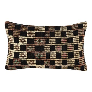 """Muted Mid-Century Lumbar Pillow 