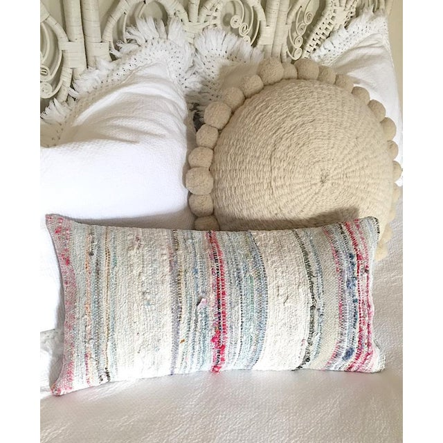Moroccan Berber Striped Pillow Cover - Image 7 of 10