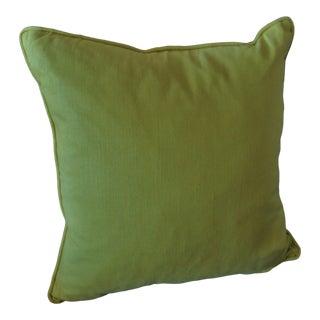 Venom Green to Lemon Grass Custom Mitchell Gold Custom Pillow For Sale