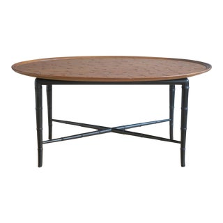 Mahogany Coffee Table by Kittinger For Sale