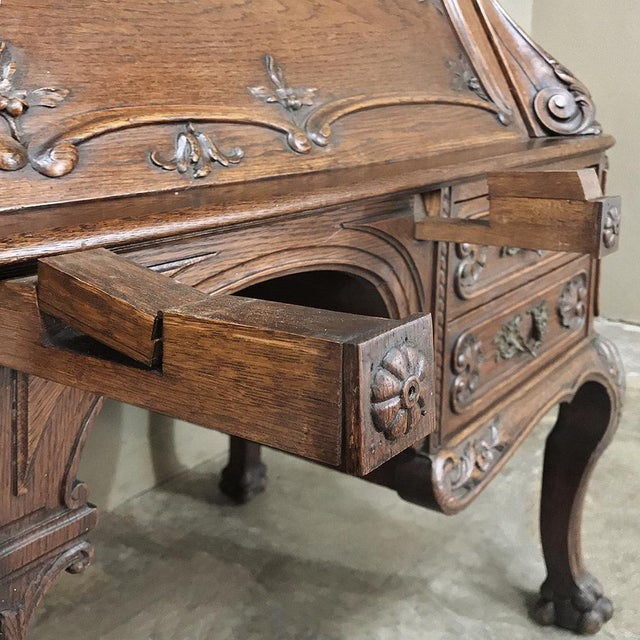 19th Century French Louis XIV Secretary For Sale - Image 9 of 13