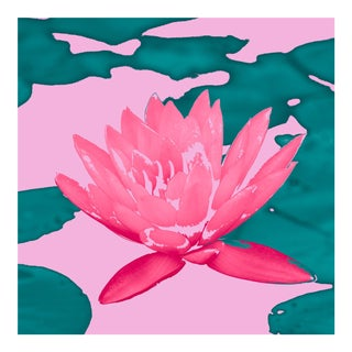 Pink and Green Lotus & Lilly Pads