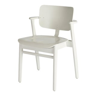Ilmari Tapiovaara Domus Chair in White Lacquered Birch for Artek For Sale