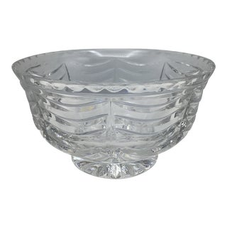 Vintage Tiffany and Company Footed Royal Brierley Swag Pattern Bowl - 7 1/2 Inch For Sale
