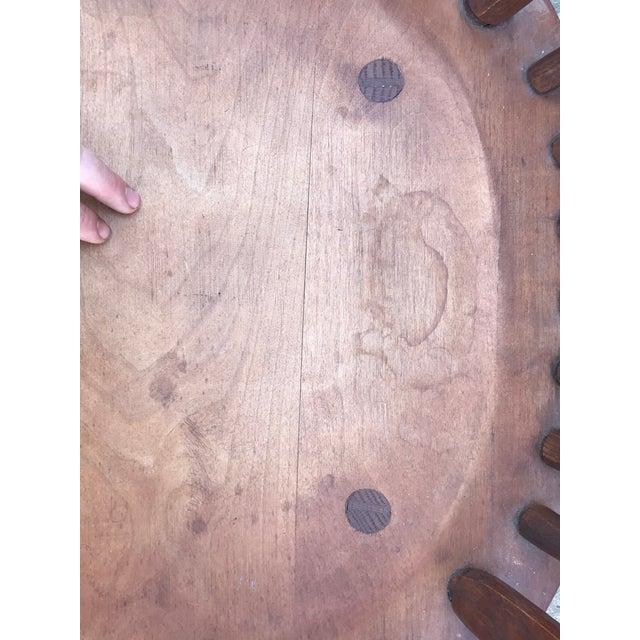 Wood Vintage Craftsmanship Hunt Country Birdcage Rocking Chair Rocker For Sale - Image 7 of 13