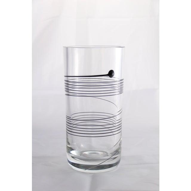 Bertil Vallien for Boda Signed Spin Vase - Image 2 of 7