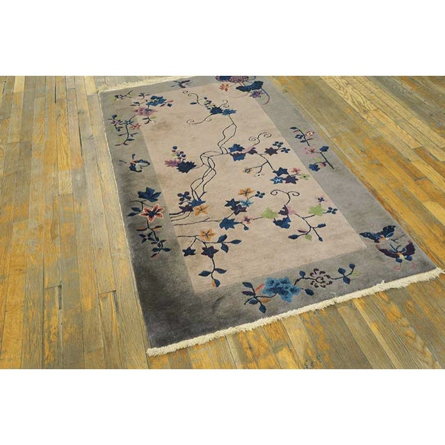 Art Deco Antique Art Deco Chinese Rug For Sale - Image 3 of 6