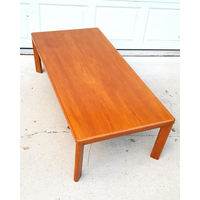 Vejle Stole Denmark Danish Modern Teak Coffee Table - Image 2 of 8