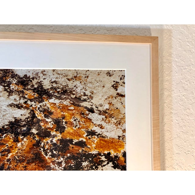 Orange 1980s Vintage Original Abstract Photograph by Willy Skigen For Sale - Image 8 of 13