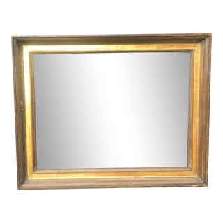Mid Century Modern Gold Picture Frame For Sale