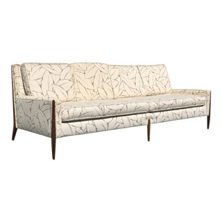 1950s Mid-Century Modern Jules Heumann for Metropolitan Sculptural Sofa For Sale