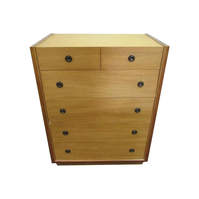 Vintage Blonde Wood Dresser - Image 2 of 10