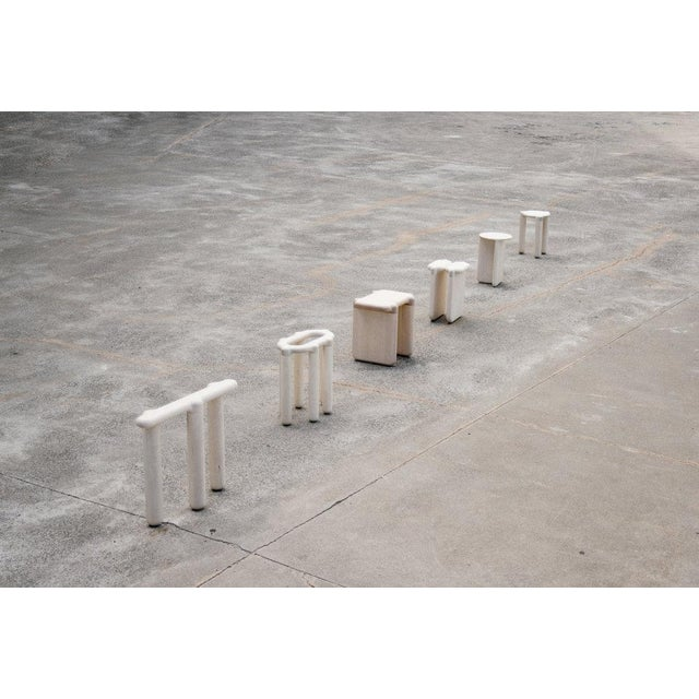 Not Yet Made - Made To Order Loïc Bard Stool Bone 01 For Sale - Image 5 of 6