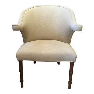 Julian Chichester Contemporary Occasional Chair For Sale