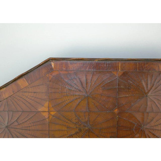 Oyster Veneer Tray For Sale - Image 9 of 13